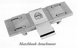 Matchbook Attachment & Accessories